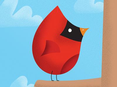 cardinal birdie