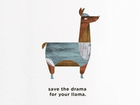 Save the drama for your llama.