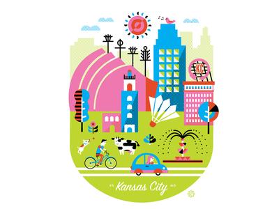 kansas city poster - full image