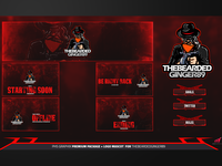 Full Twitch Package For The Bearded Ginger89