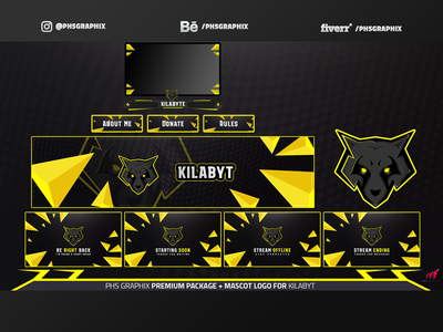 Full Twitch Package For KILABYT