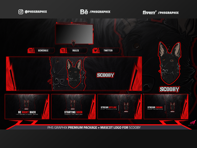 Full Twitch Package For Scooby