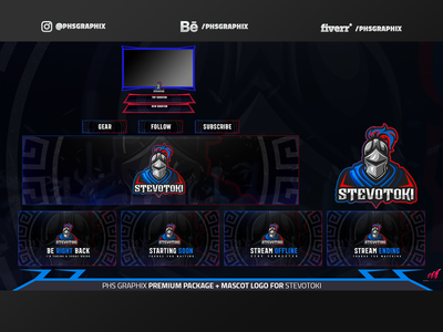 Full Twitch Package For Stevotoki