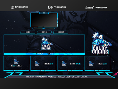 Full Twitch Package For ColbyOnline