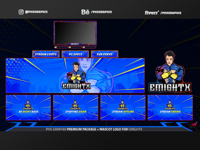 Full Twitch Package For EMIGHTX