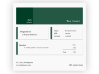 Daily UI 017 Tax Invoice