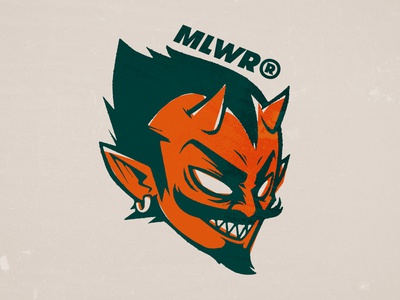 Diablo Malawero laynes vector illustration sticker devil diablo