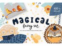 Magical fairy set - book creator