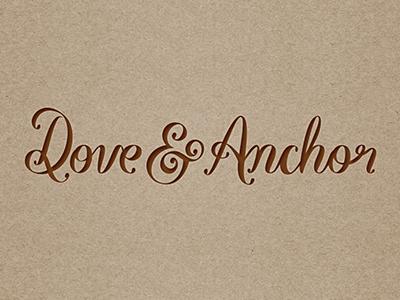 Dove Anchor Small Logo