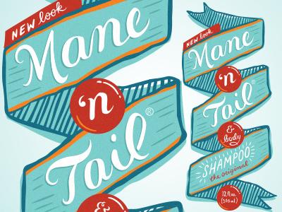 Mane N Tail Shampoo rebrand