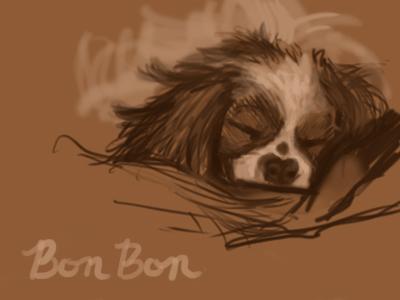 Bon Bon Digital Sketch