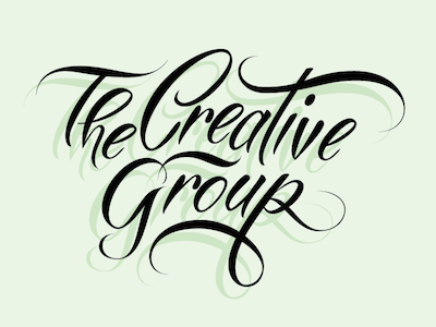 The Creative Group Handlettering
