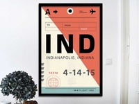 Indy Bag Tag