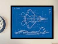 Raptor Plane Blueprint