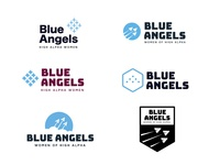 Blue Angels Logo Concepts