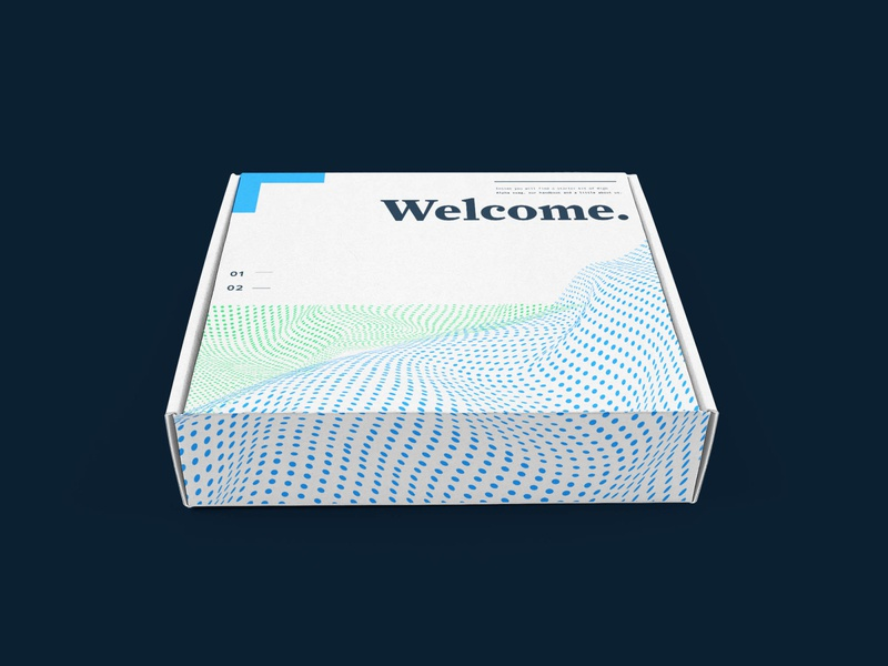 Brand Exploration - Welcome box