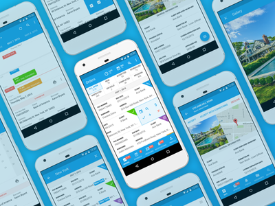 ValuePad Mobile Companion for Android phone ux ui simple service saas minimal manage android documents dashboard app