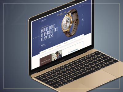 Luxury Watches luxury slider hero landing online shop e-commerce retail brand watches