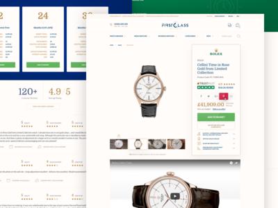 Product Description watches store comments retail online luxury details product e-commerce brand