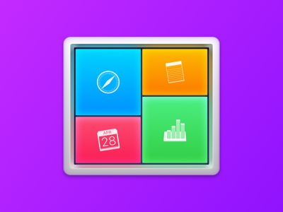 Application Icon for Switchem ui ux colorful design windows group everyday tasks create ready-made workspaces icon osx smart automation software macos application high sierra mac app