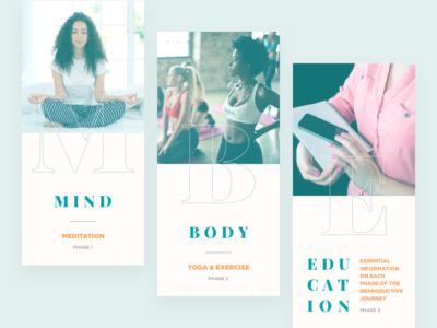 Onboarding Slides • Meditation App