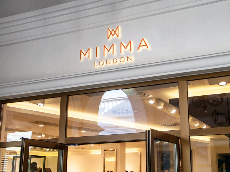 Mimma London- Branding brand design woman london shoe brand luxury brand logo corporate identity design branding corporate branding