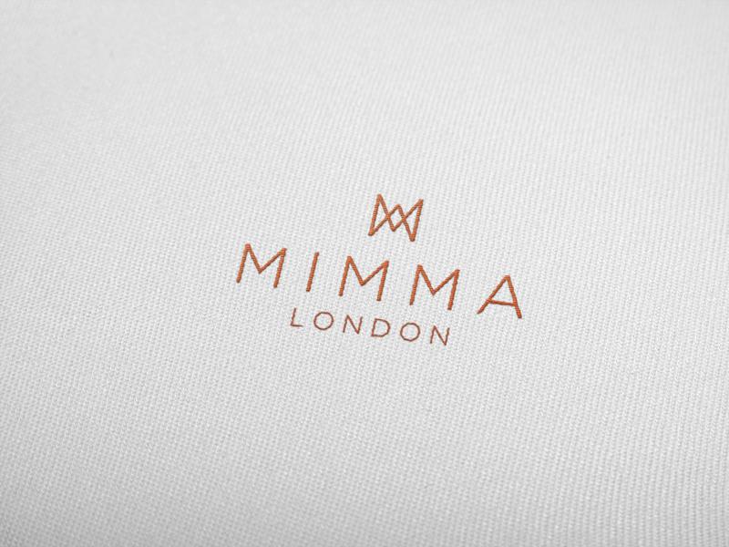 Mimma London- Branding woman shoe brand shoe embriodery london luxury logo corporate identity design corporate branding branding brand design brand