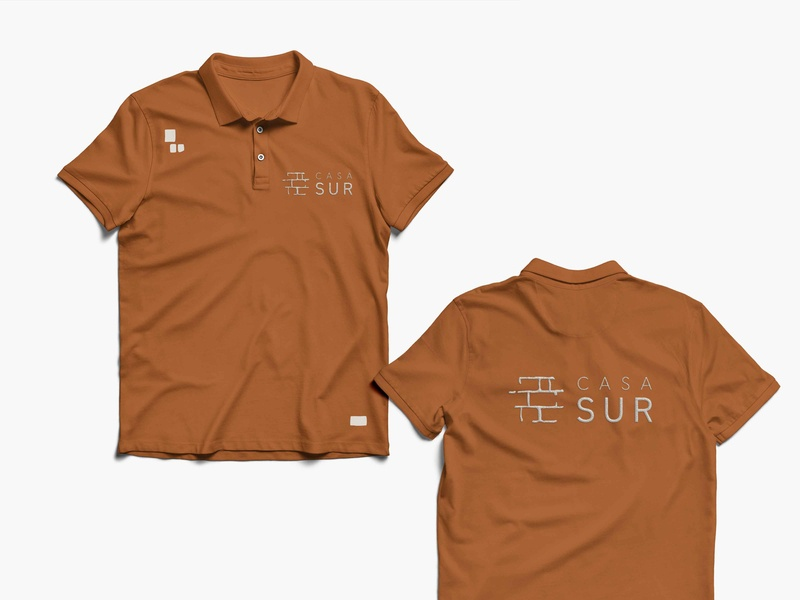 CasaSUR - Branding tshirt design tshirt mockup tshirt hotel branding boutique hotel logo brand corporate identity design branding corporate branding