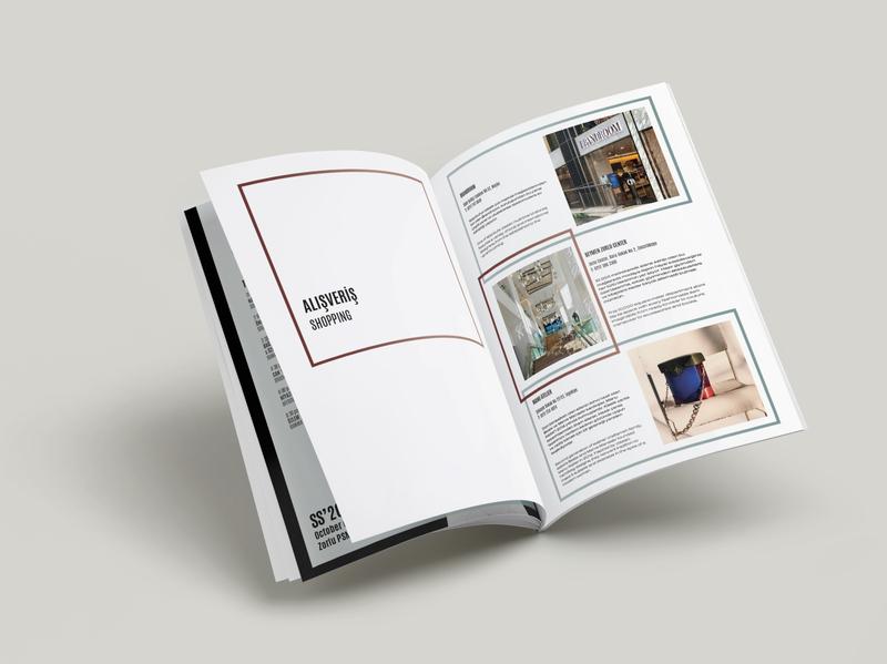 Mercedes-Benz Fashion Week Istanbul SS'20 typographic typogaphy layout design layout booklet design booklet katalogue print graphic design fashion week fashion concept art direction