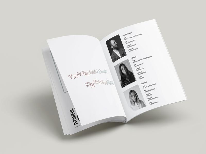 Mercedes-Benz Fashion Week Istanbul SS'20 typographic typogaphy print layout design layout catalogue graphic design fashion week fashion concept booklet design booklet art direction