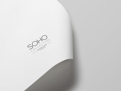 Soho Ceramic Collection - Branding minimalist logo soho minimal typographic typography graphic design logo brand corporate identity design branding corporate branding