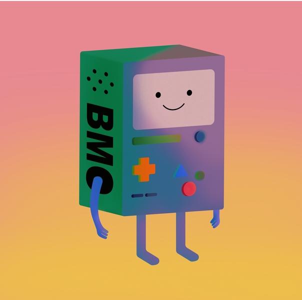 Gamer Boi yellow photoshop illustrator summer art bmo adventure game adventure time vector editorialdesign happy ipad illustration design ipadpro procreate illustration fun