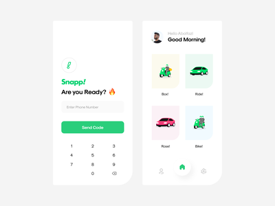 Snapp Concept register form log in ridesharing snapper super app delivery passanger snappy drivers rider ubereats take a uber take a ride lyft tapsi map uber driver ride snapp