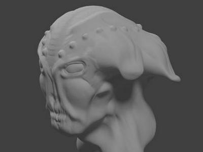 Alien 3D model 3d blender model alien creature