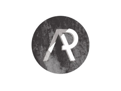 Experimenting with textures logo design type texture brand personal