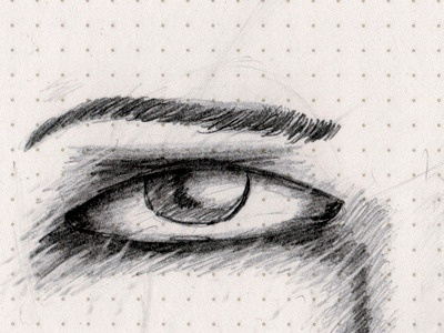 Face face eye sketch sketch-a-day tones woman shading