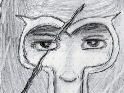 Magneto sketch drawing sketchbook art pencil magneto