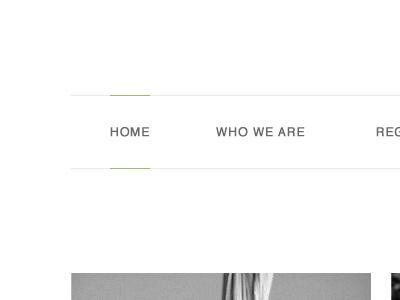 Home navigation nav menu html css web design