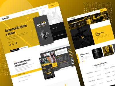 BeTheNext - Website