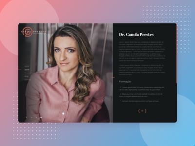 Dr. Camila Prestes - Website
