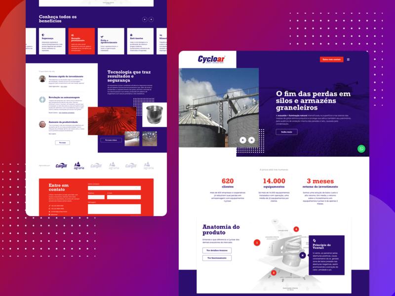Cycloar - Website