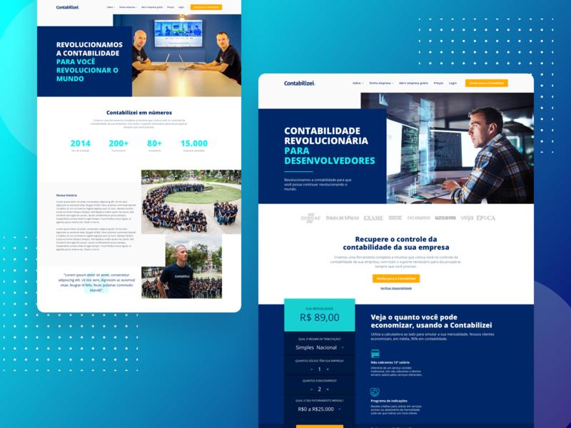 Contabilizei - Website