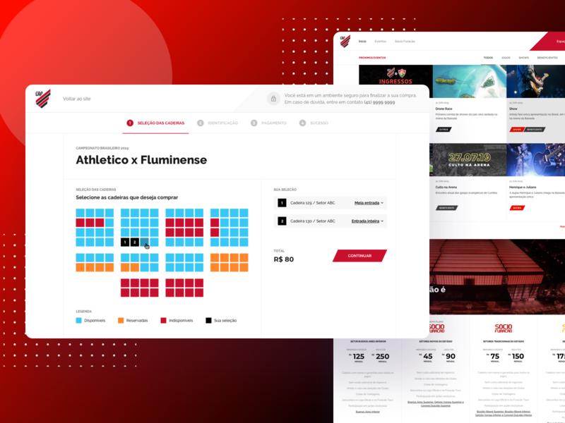 Athletico Paranaense - Website