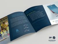 Presentation brochure for U19 Slovenian floorball team