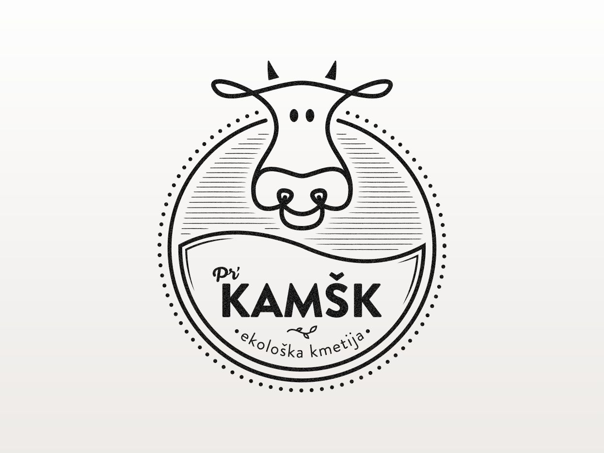 Organic farm logo design slovenija slovenia organic organic farm farm graphics logo adobe illustrator logo design graphic  design