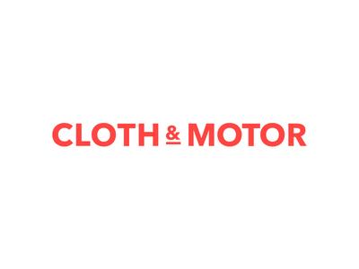 Cloth&Motor Logo