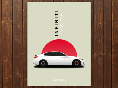 Infiniti Q50 Illustration
