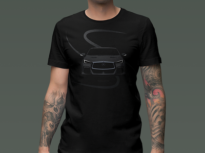 Infiniti Q60 T-Shirt Design