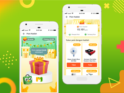 Mitra Tokopedia - Loyalty Points Page green uxdesign ux tokopedia mitratokopedia uiux app design appdesign icon vector typography illustration stall colorful application app design mitra uidesign ui