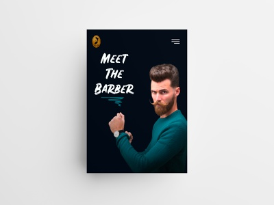 Meet the Barber 💈 ux trends user interface barbershop hairdresser haircut barber digital art web agency digital agency agence digitale marseille agence web marseille advertising branding website design ui ux web landing page webdesign